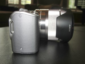 Sony NEX-5 from side